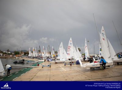 World Sailing Cup 2018 : Courses annulées