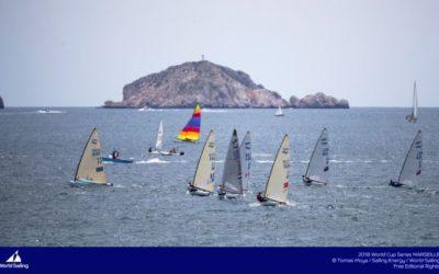World Sailing Cup 2018 : Premiers podiums pour la coupe du monde de voile olympique