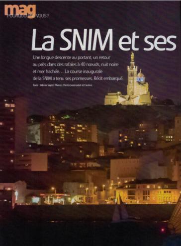 Voile magazine : grand reportage sur la SNIM 2016