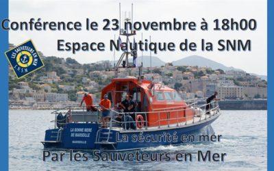Conférence du 23 novembre 2018 : la sécurité en mer