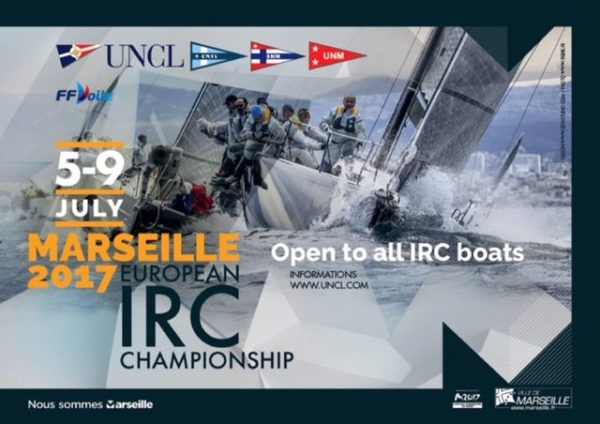 Marseille 2017 IRC European Championship : lancement officiel !