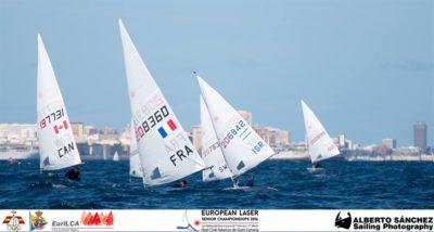 European Championship à Las Palmas : des conditions difficiles et une première place en rond argent