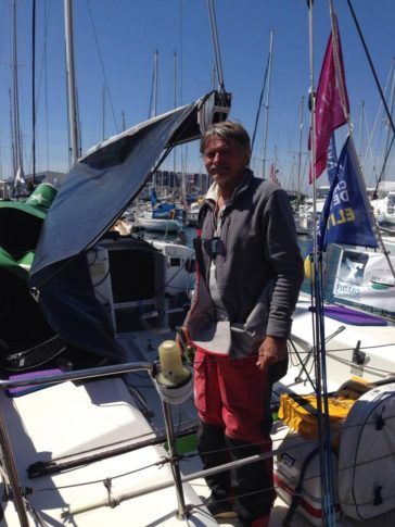 Notre skipper nature Jean Paul Mouren !