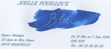 Exposition de Joëlle Fouilloux