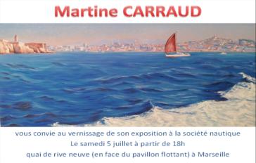 Exposition de Martine Carraud