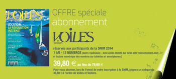 Offre spéciale SNIM Voiles et Voiliers