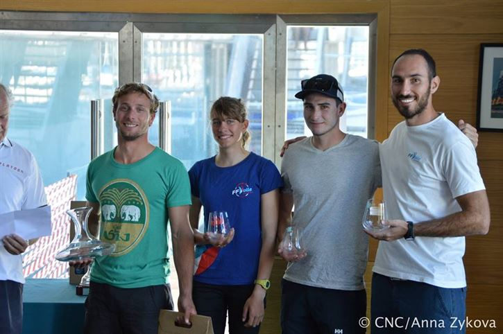 Un coureur de la Nautique en SB20 remporte le championnat national... portugais !