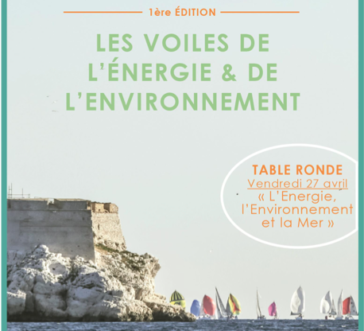 1ère EDITION DES VOILES DE L'ENERGIE ET DE L'ENVIRONNEMENT DU 28 AU 29 AVRIL 2018