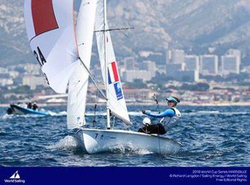 World Sailing Cup 2018 : Une belle journée pour les Français