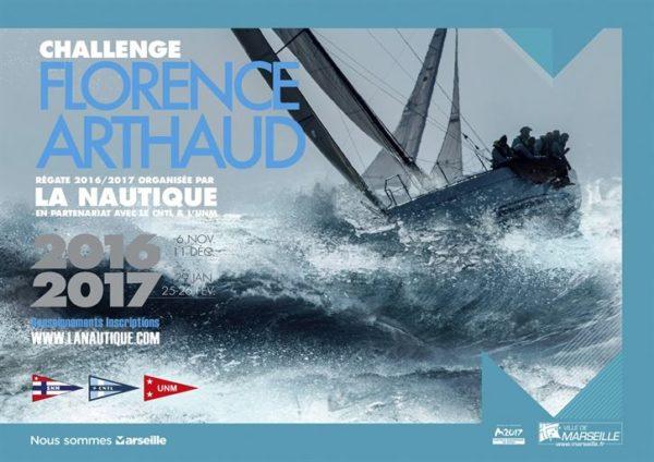 Finale du Challenge Florence Arthaud : 25 et 26 février 2017.