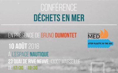 10 août : Conférence déchets en mer