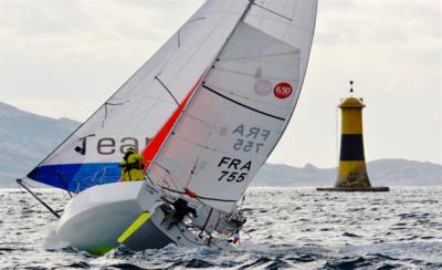Cécile Poujol et Yvan Bourgnon, parrains du Mini 6.50 de Melchior Treillet aux Nauticales !