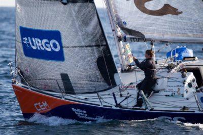 Pierre Quiroga, notre champion, décroche la 10e place du championnat de France Elite de course au large