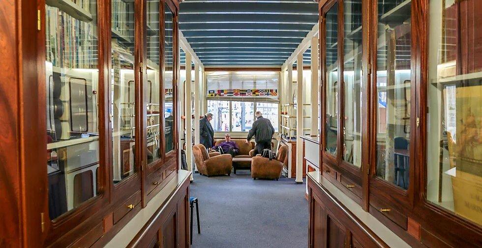 Bibliothèque André Mauric de la SNM