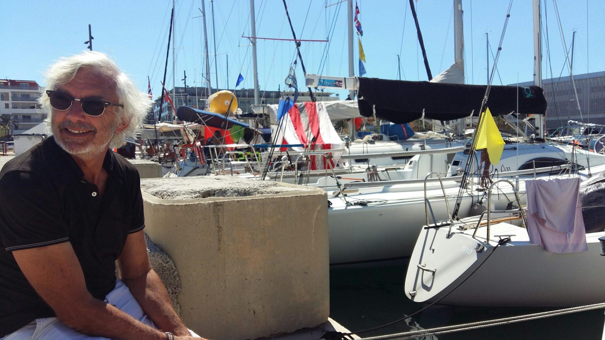 Marc Deveze skipper de Mo Aphrodite