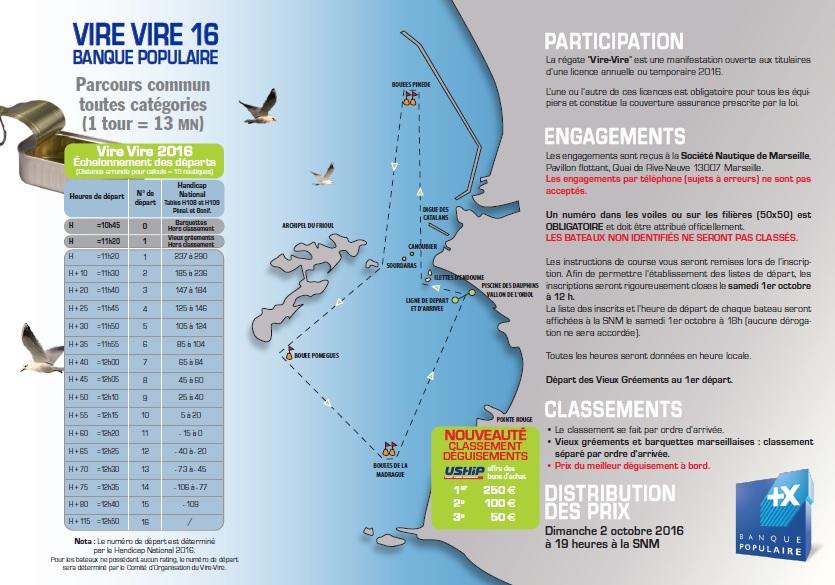 Avis de course Vire-Vire