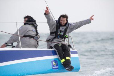 Pierre Quiroga se classe 4e à la 1ere étape de la Douarnenez – Gijón – Douarnenez