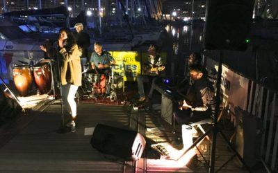 Belle soirée Piel Canela sur la terrasse de La Nautique !