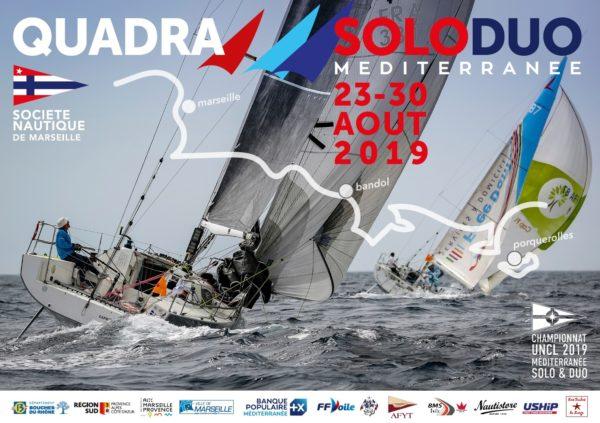 La Quadra Solo-Duo Méditerranée, dernier défi voile de l'été – 23 au 30 août 2019