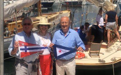 Le San Diego Yacht Club en visite à Marseille