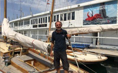 Ecole de voile : notre moniteur Laurent Cocallemen à l'honneur dans La Provence