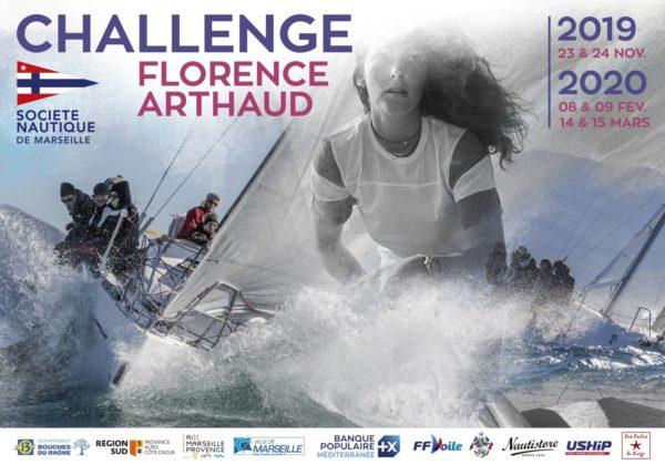 Challenge Florence Arthaud 14 et 15 mars 2020