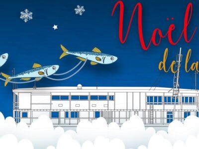 Le père Noël accoste à La Nautique le samedi 12 décembre 2020