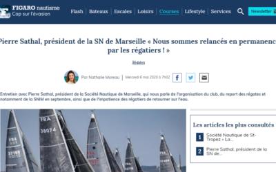 Figaro nautisme : «Pierre Sathal : nous sommes relancés en permanence par les régatiers» !