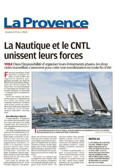 «La Nautique et le CNTL unissent leurs forces»