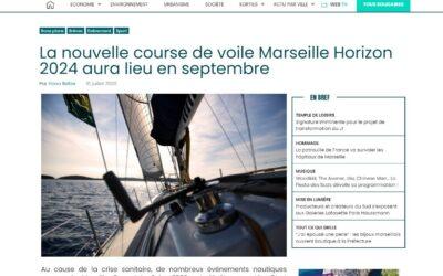 «La nouvelle course de voile Marseille Horizon 2024 aura lieu en septembre»
