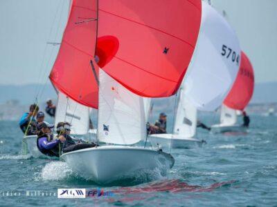 Championnat d'Europe 420 : licenciée à la SNM, Emma Picot décroche le bronze