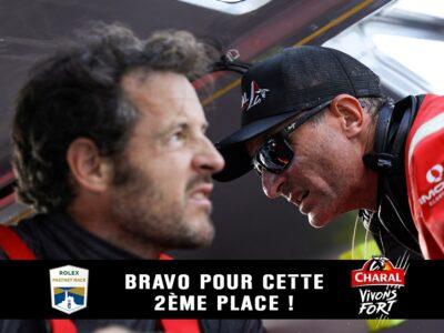 Christopher Pratt et Jérémie Beyou accrochent une belle 2è place sur la Rolex Fastnet Race