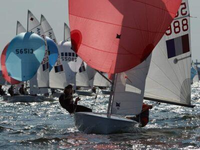 Emma Picot, licenciée à la SNM : 4è du Championnat de France Espoirs 420 à Martigues