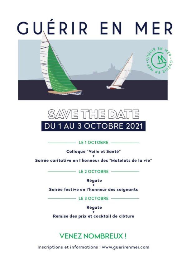 Guérir en mer : 1ère régate Voile et Santé du 1er au 3 octobre 2021