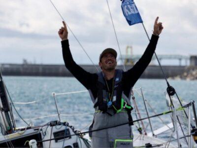 3è étape de la Solitaire du Figaro 2021 : Pierre Quiroga, premier en baie de Morlaix