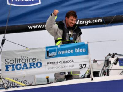 Solitaire du Figaro : Pierre Quiroga remporte le deuxième acte